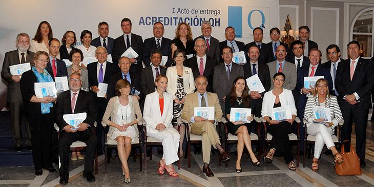 37 organizaciones sanitarias reciben la acreditación QH (Quality Healthcare) de IDIS