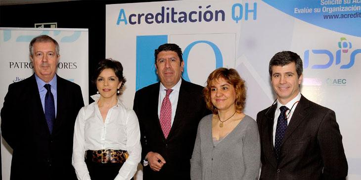 IDIS presenta las primeras experiencias con su sistema de reconocimiento a la calidad asistencial QH (Quality Healthcare)