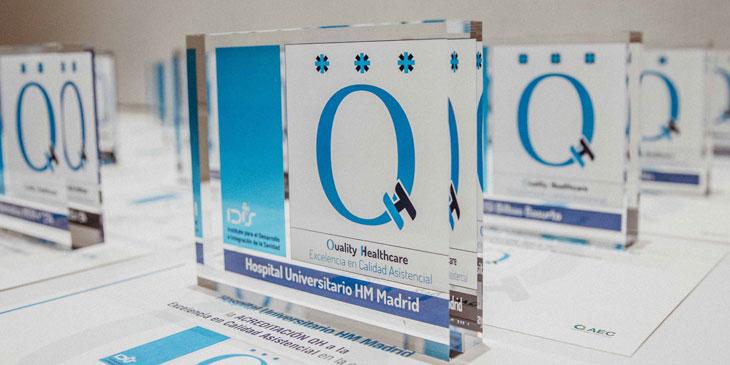 136 centros asistenciales públicos y privados cuentan ya con la Acreditación QH de la Fundación IDIS