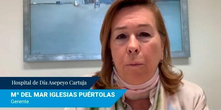 Hospital de día Asepeyo Cartuja – Mª del Mar Iglesias