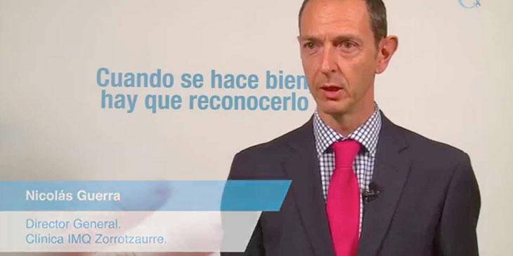 Clínica IMQ Zorrotzaurre – Nicolás Guerra
