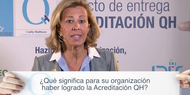 Hospital Asepeyo Coslada, Hospital Asepeyo La Cartuja, y Hospital Asepeyo San Cugat – Isabel García Gismera